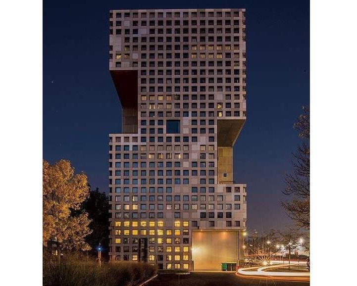 Simmons Hall at MIT
