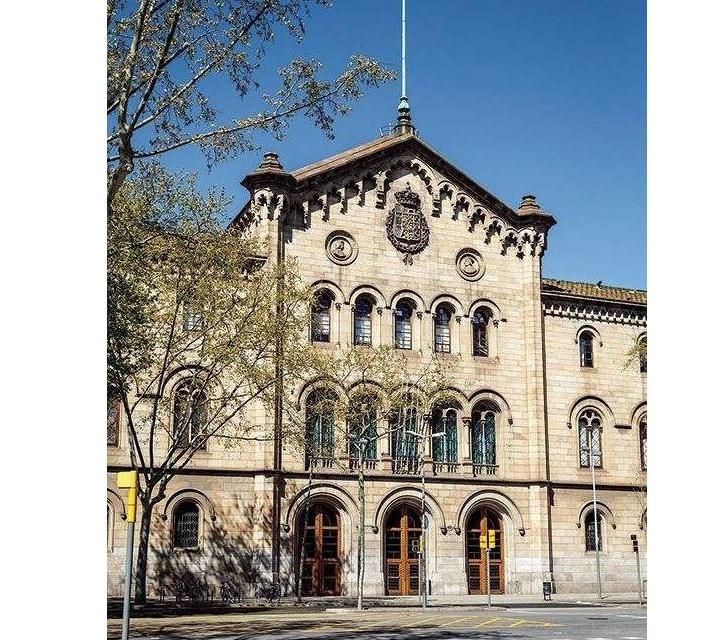 University building in Barcelona