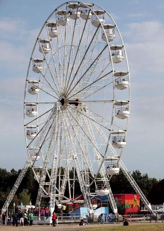 Alconbury Weald ferris wheel