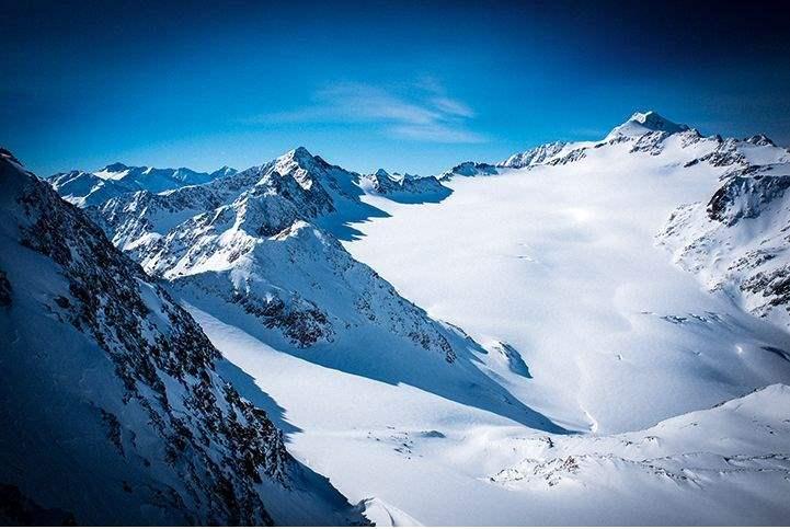 Sölden resort, Tyrol, Austria