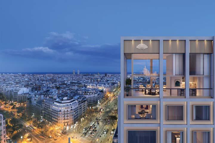 Mandarin Oriental Residences, Barcelona