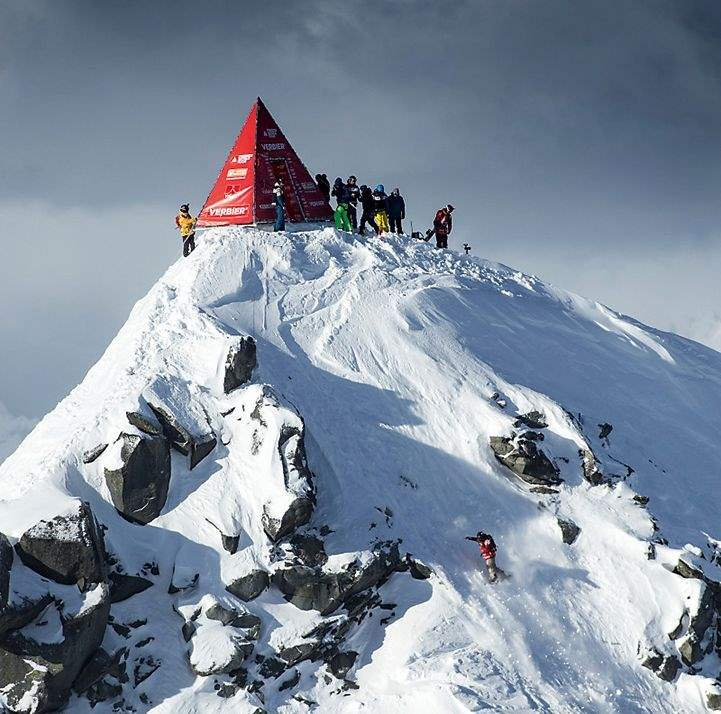 Xtreme 2018 on Bec des Rosses, Verbier