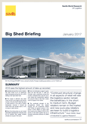 Big Shed Briefing