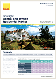 Central and Tayside Residential Market