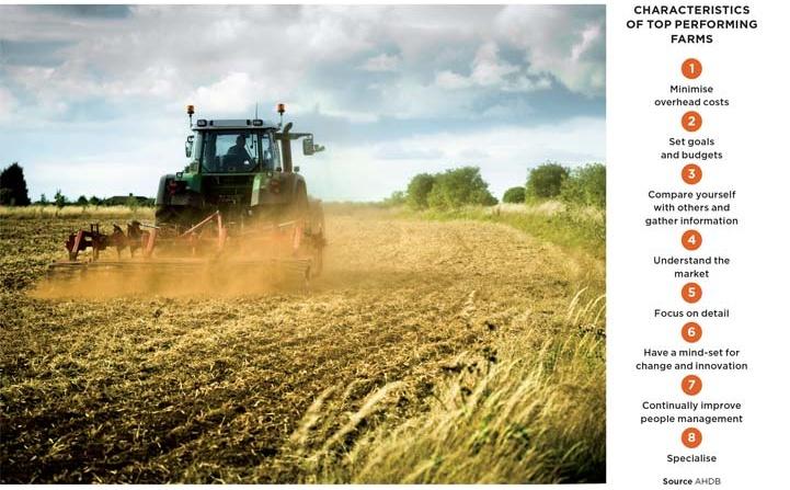 Characteristics of top performing farms