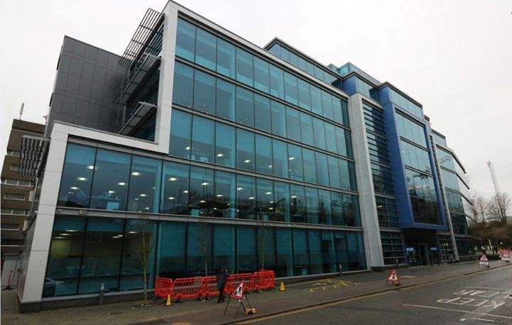 Savills are marketing 16,765 sq ft of available space at 90–96 Victoria Street