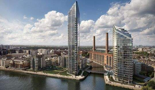 The first phase of Chelsea Waterfront is due to complete at the end of 2017