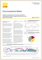 City Investment Market Watch