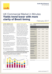 UK Commercial Market in Minutes