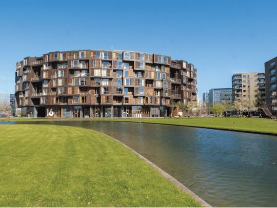 Student housing in Copenhagen, Denmark