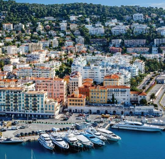 Smaller, higher yielding units in Nice have gained favour with investors
