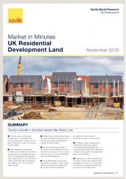 UK Residential Development Land