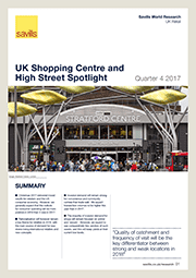 UK Shopping Centre and High Street