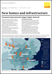 New homes and infrastructure