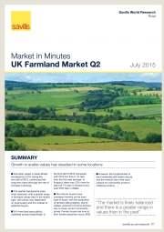 UK Farmland Market Q2 2015