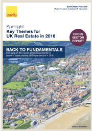 Key Themes for UK Real Estate in 2016