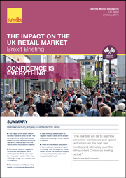 The Impact on the UK Retail Market