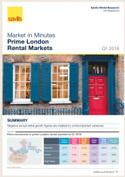 Market in Minutes Prime London Rental Markets Q1 2016