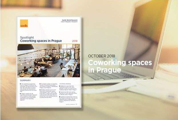Coworking spaces in Prague