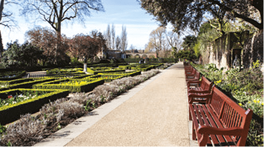 Holland Park comprises 54 acres of diverse parkland