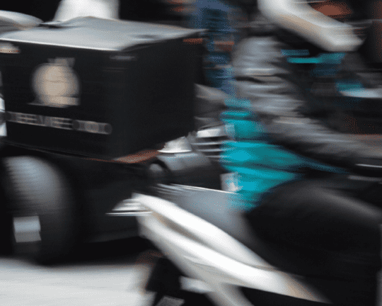 Deliveroo drivers: a familiar sight in our cities