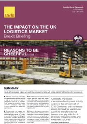 The Impact on the UK Logistics Market
