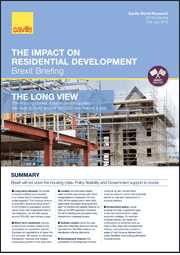 The Impact on Residential Development