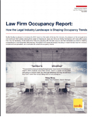 How the Legal Industry Landscape is Shaping Occupancy Trends
