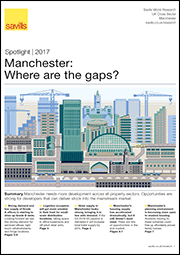 Manchester: Where are the  gaps?