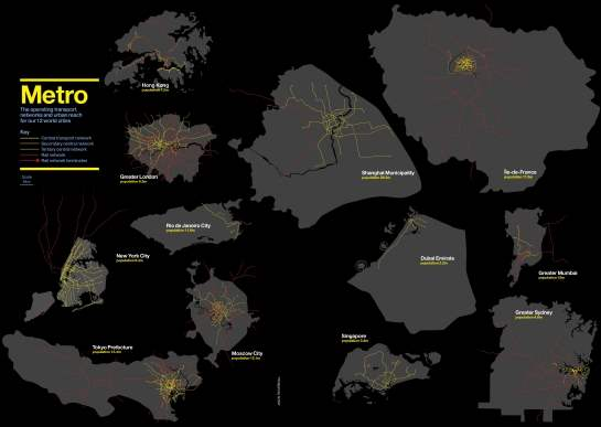 12 world cities