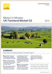 UK Farmland Market Q3 2015
