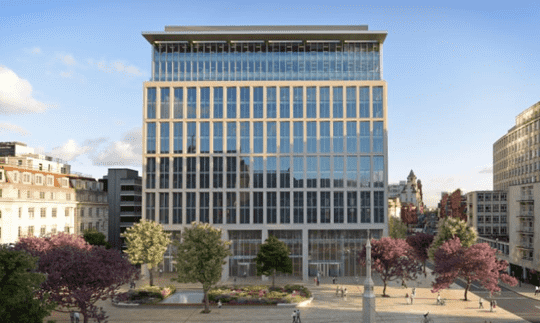 One St Peter's Square, Manchester (288,000 sq ft) purchased by Deka Immobilien