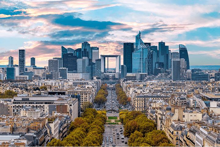La Défense financial district