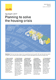 Planning to solve the housing crisis