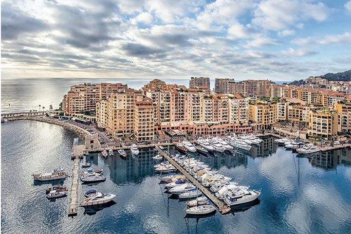 Port of Fontvieille, Monaco