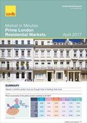 Market in Minutes: Prime London Residential Markets April 2017