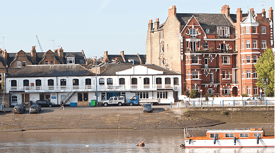 The Thames contributes greatly to Putney's appeal