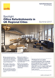 Office refurbishments in UK regional cities