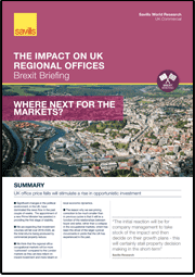 The Impact on UK Regional Offices