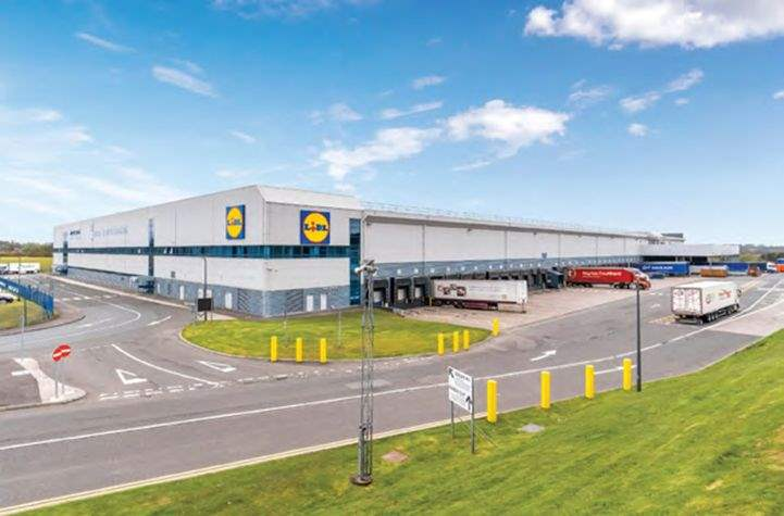 Lidl unit at Deans Industrial Estate which is marketed by Savills