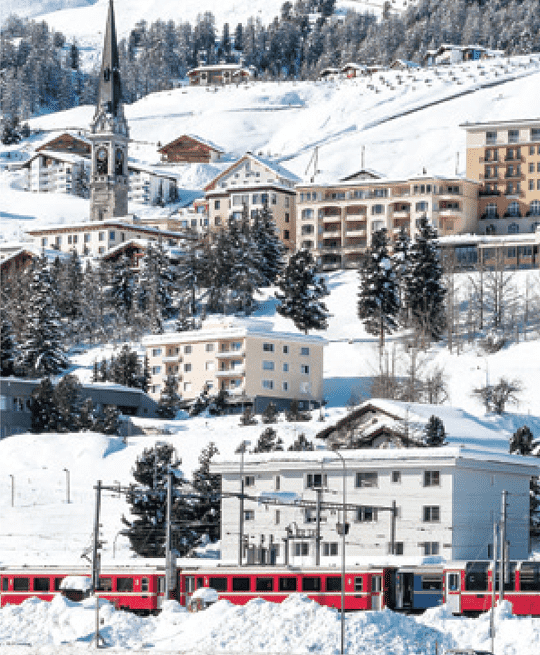 St Moritz in Switzerland