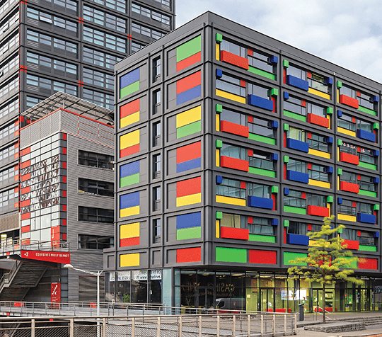 Student housing in Lille, France