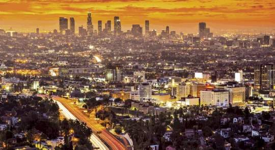 Los Angeles is especially attractive on a world stage