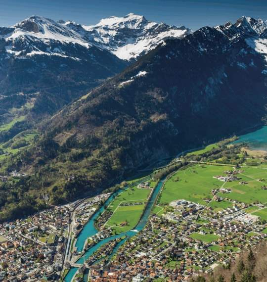 The Swiss Alps attract second-home buyers from across the globe