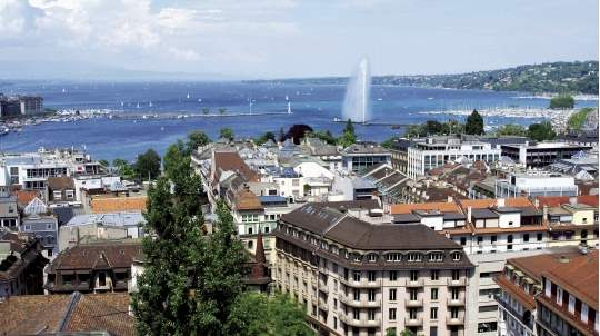 Geneva is an expensive city is which to live