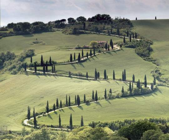 Tuscany offers potential for holiday rentals