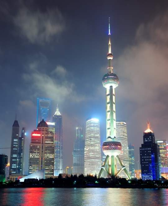 Shanghai is China`s  largest city and a global financial centre