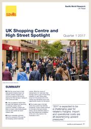 UK Shopping Centre and High Street Spotlight