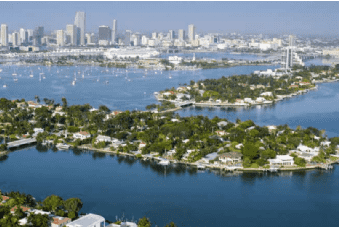 The Venetian Islands in Miami
