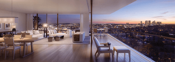 The Residences at the West Hollywood EDITION, Los Angeles, USA